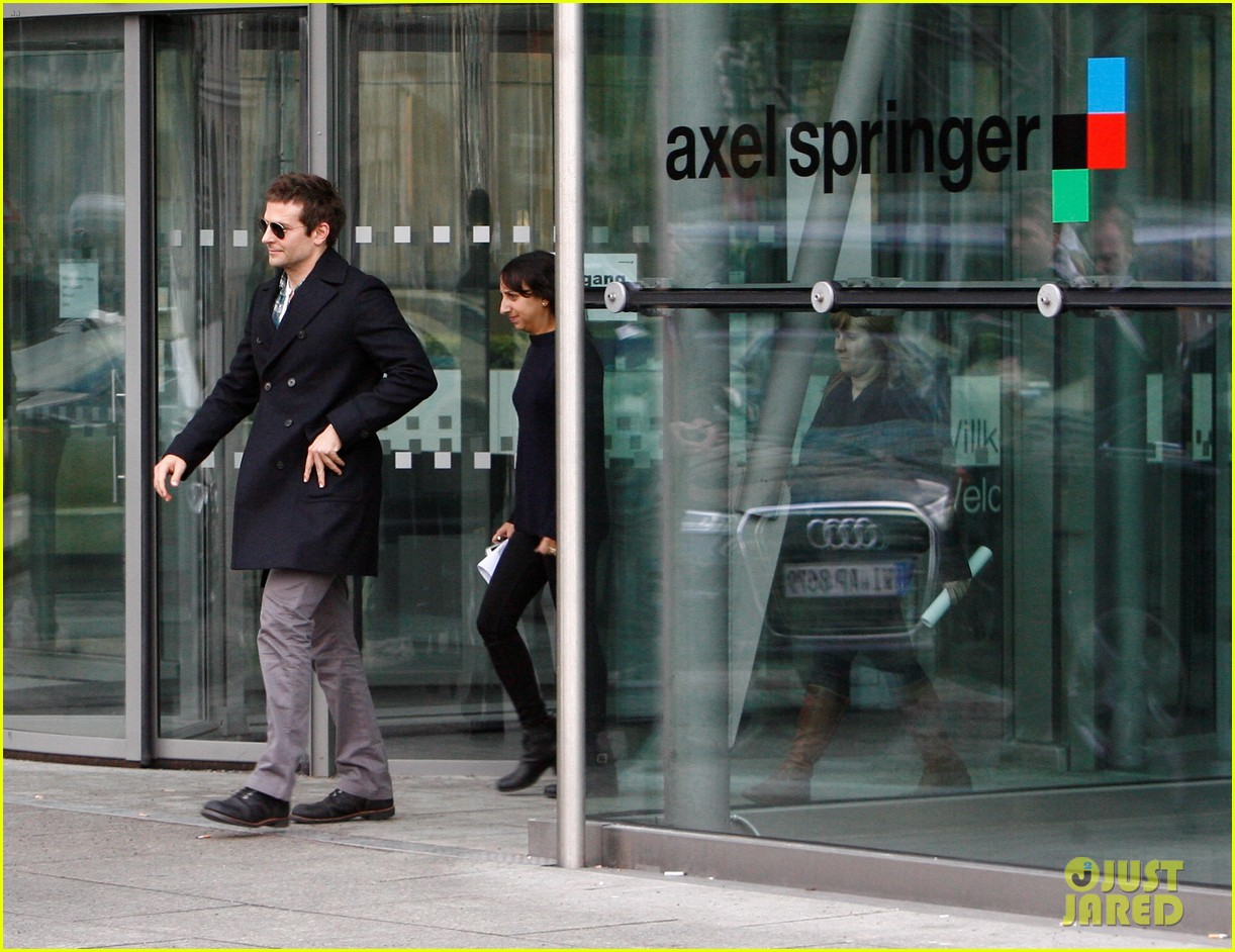 bradley cooper steps out in berlin after moscow premiere 063048731