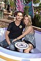 kaley cuoco and ryan sweeting kiss on his first trip to disneyland 01