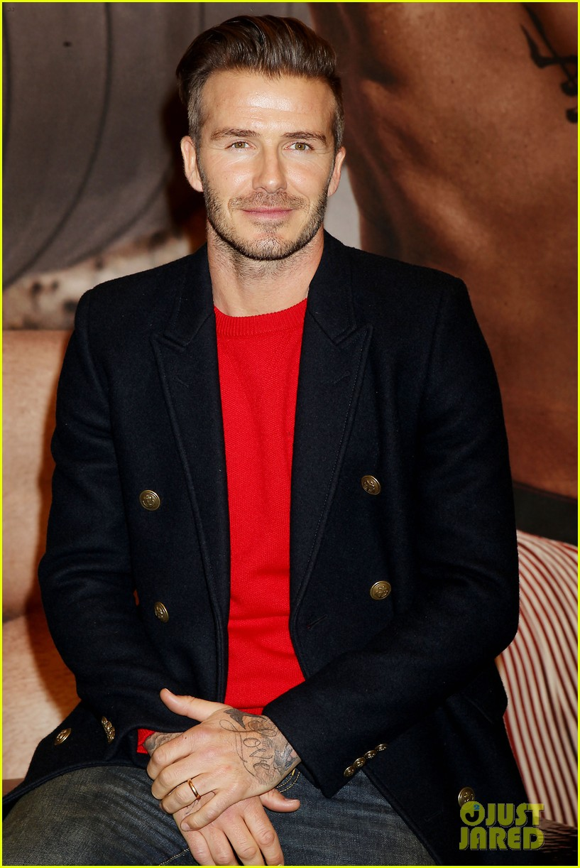 david beckham promotes hm body wear collection nyc 103045546