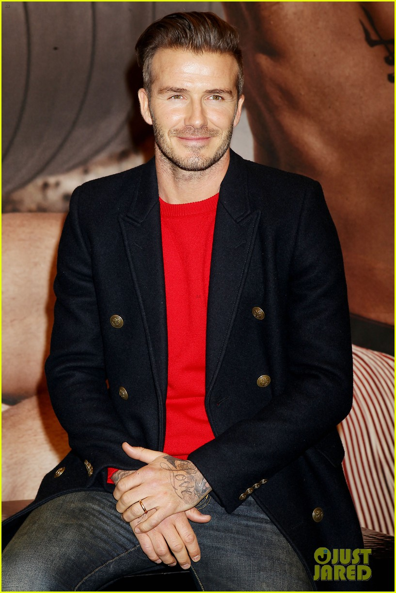 david beckham promotes hm body wear collection nyc 143045550