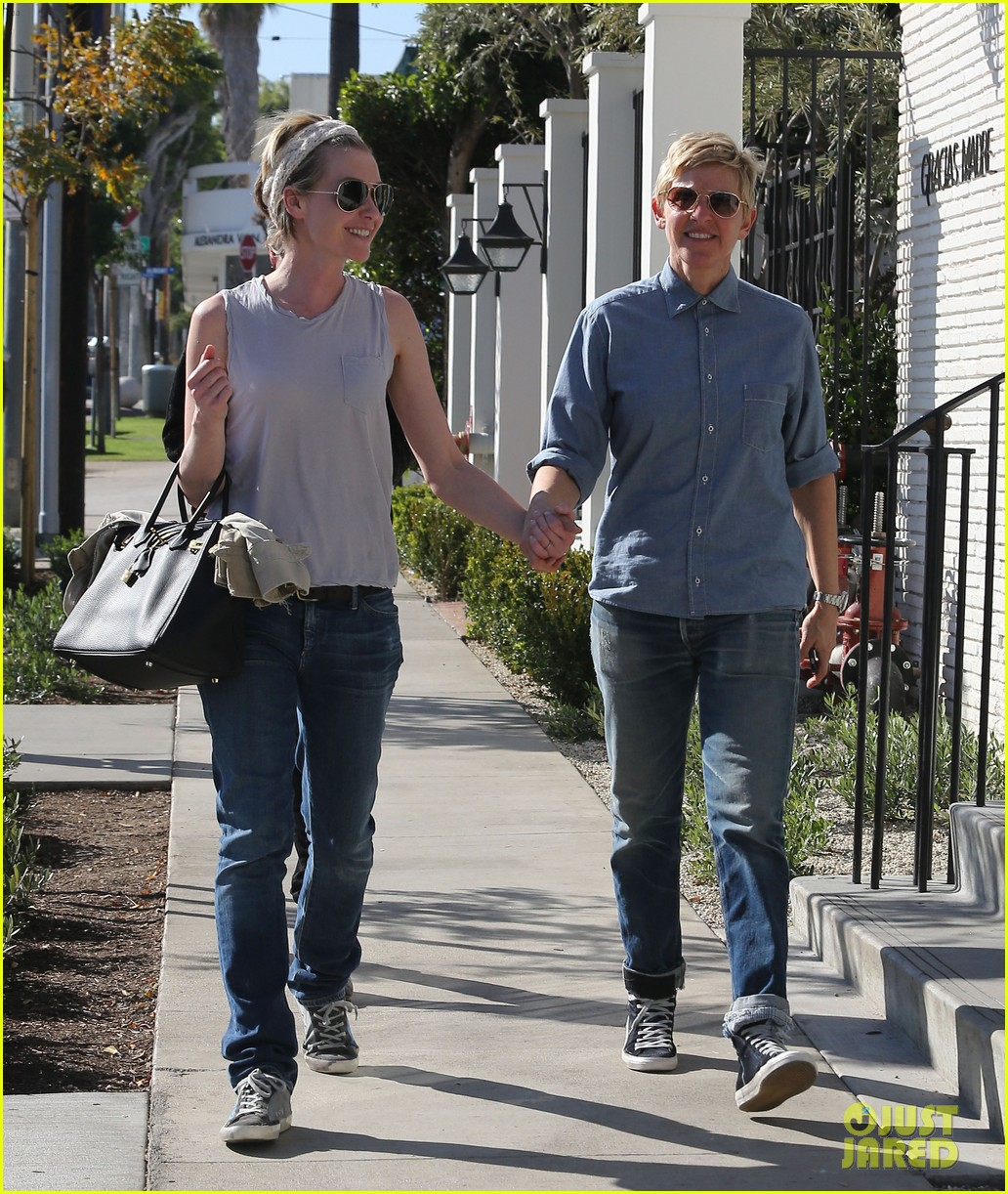 ellen degeneres portia de rossi were the cutest couple on valentines day 083054323