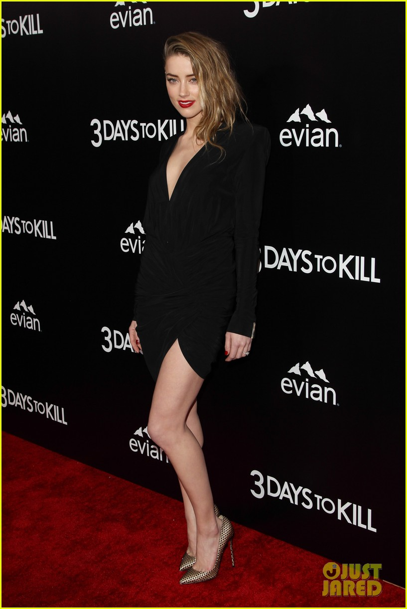 johnny depp supports amber heard at 3 days to kill premiere 14
