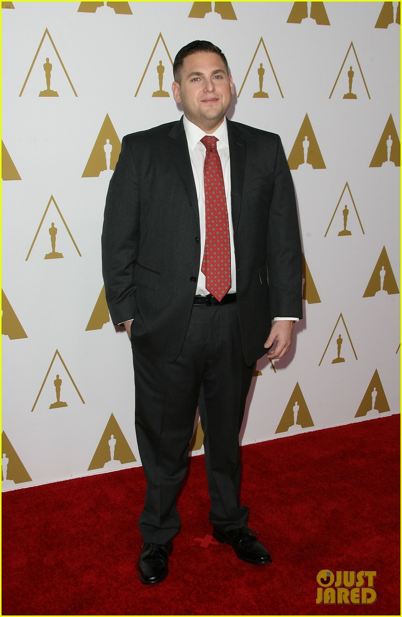 & Jonah Hill Bring 'Wall Street' to Oscars Nominees Luncheon 2014