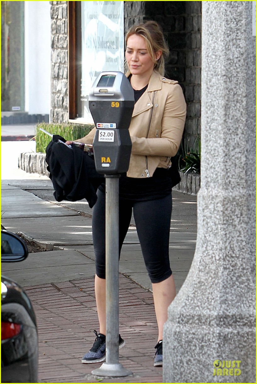 hilary duff fitness first following nyc trip 273055966