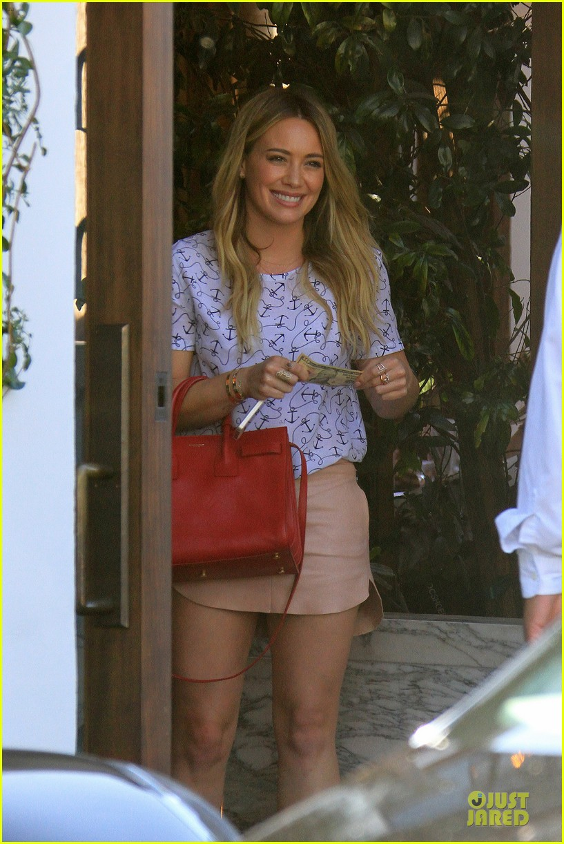 hilary duff groping allowed at cecconis 07