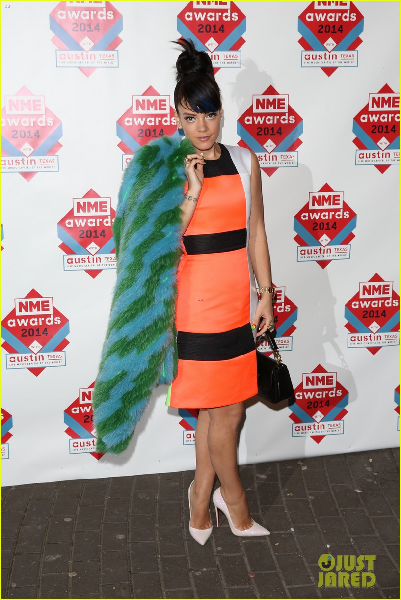 luke evans lily allen nme awards 2014 113061517