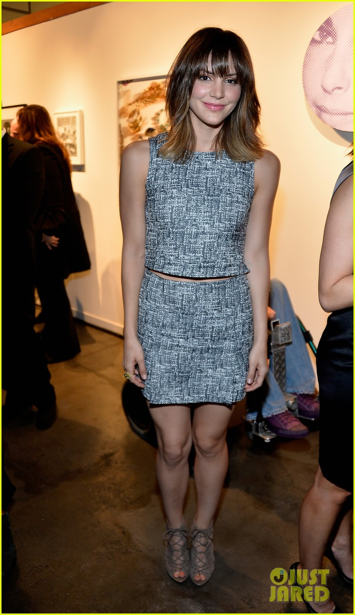 katharine mcphee colin farrell elizabeth taylor aids foundation art auction 11