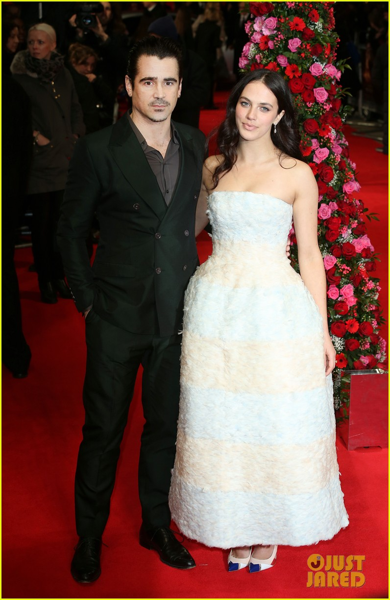 colin farrell jessica brown findlay bring winters tale to the uk 05