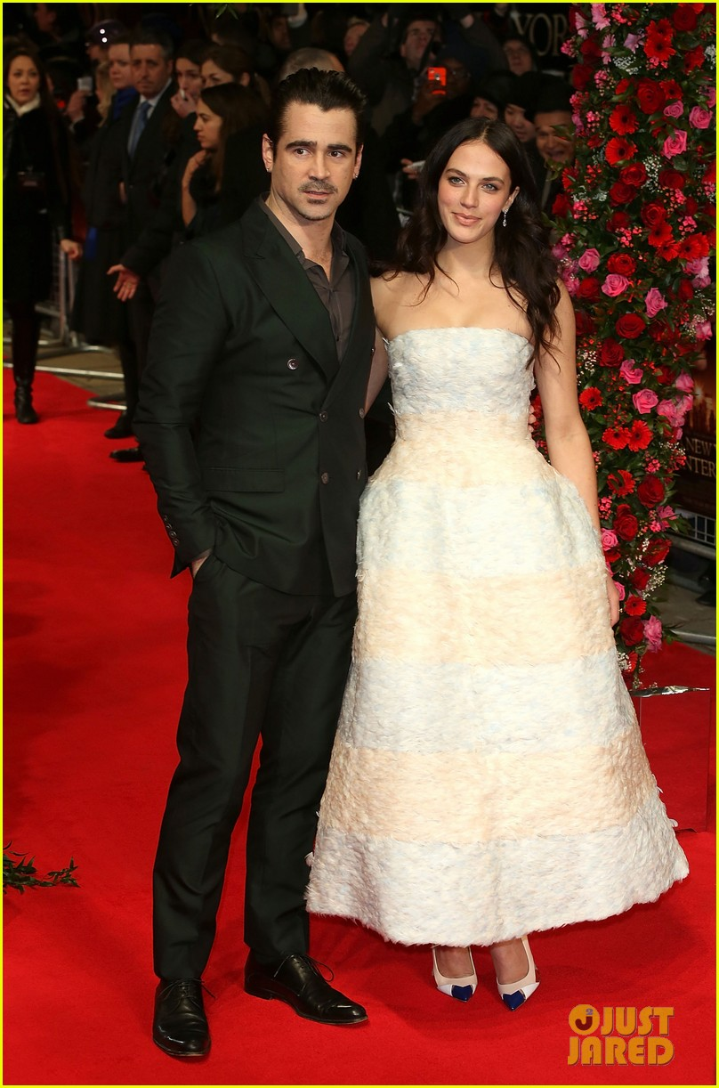 colin farrell jessica brown findlay bring winters tale to the uk 083052890