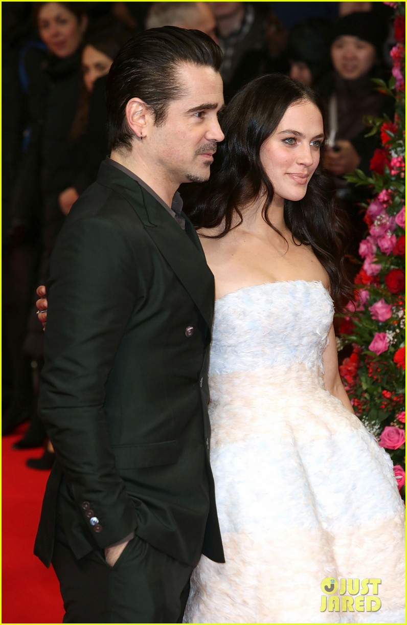 colin farrell jessica brown findlay bring winters tale to the uk 11
