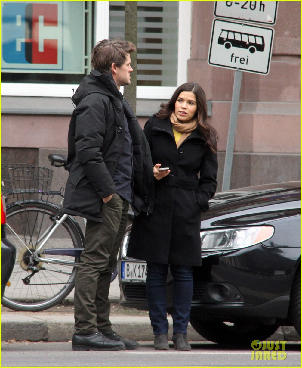 america ferrera goes sightseeing in berlin with her husband 043053258