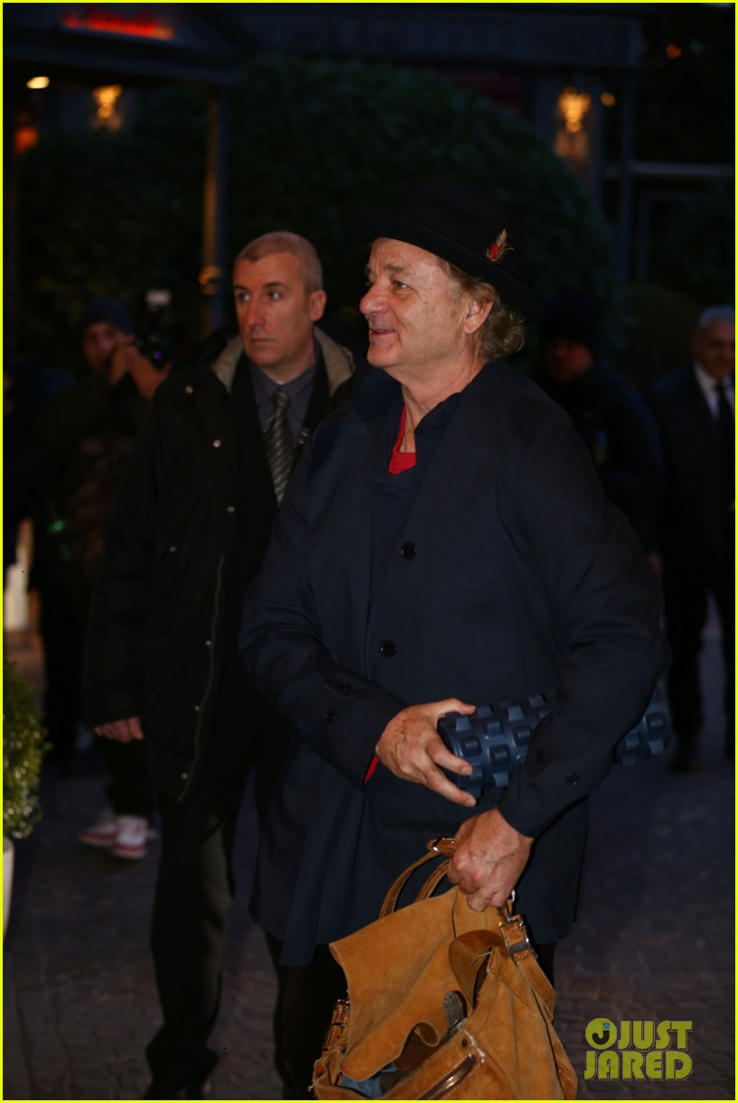 george clooney matt damon arrive in milan ahead of monuments men premiere 103050228