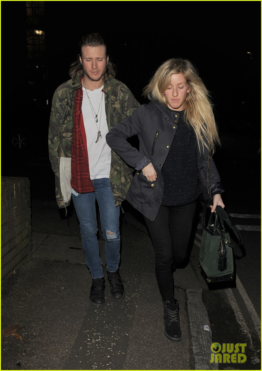 ellie goulding rumored boyfriend dougie poynter step out together 01