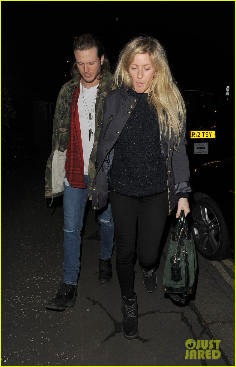 ellie goulding rumored boyfriend dougie poynter step out together 043062219