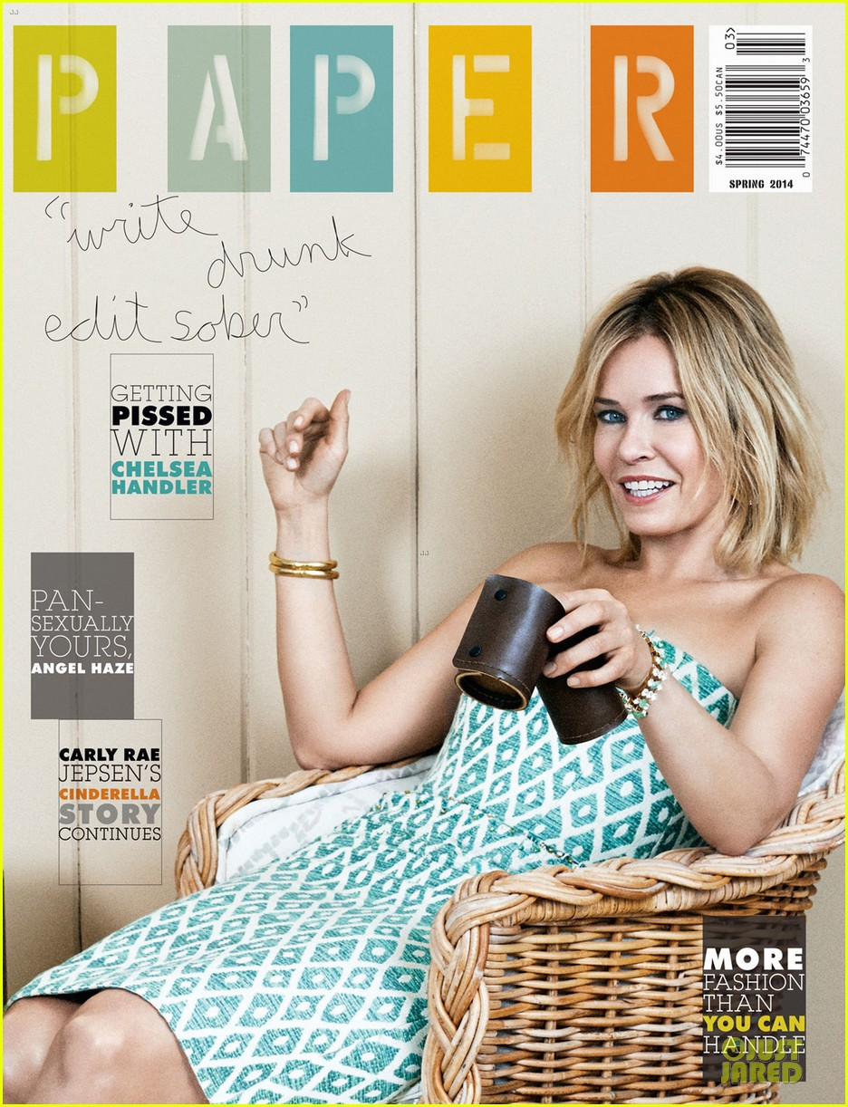 chelsea handler covers paper mag spring 2014 issue 01