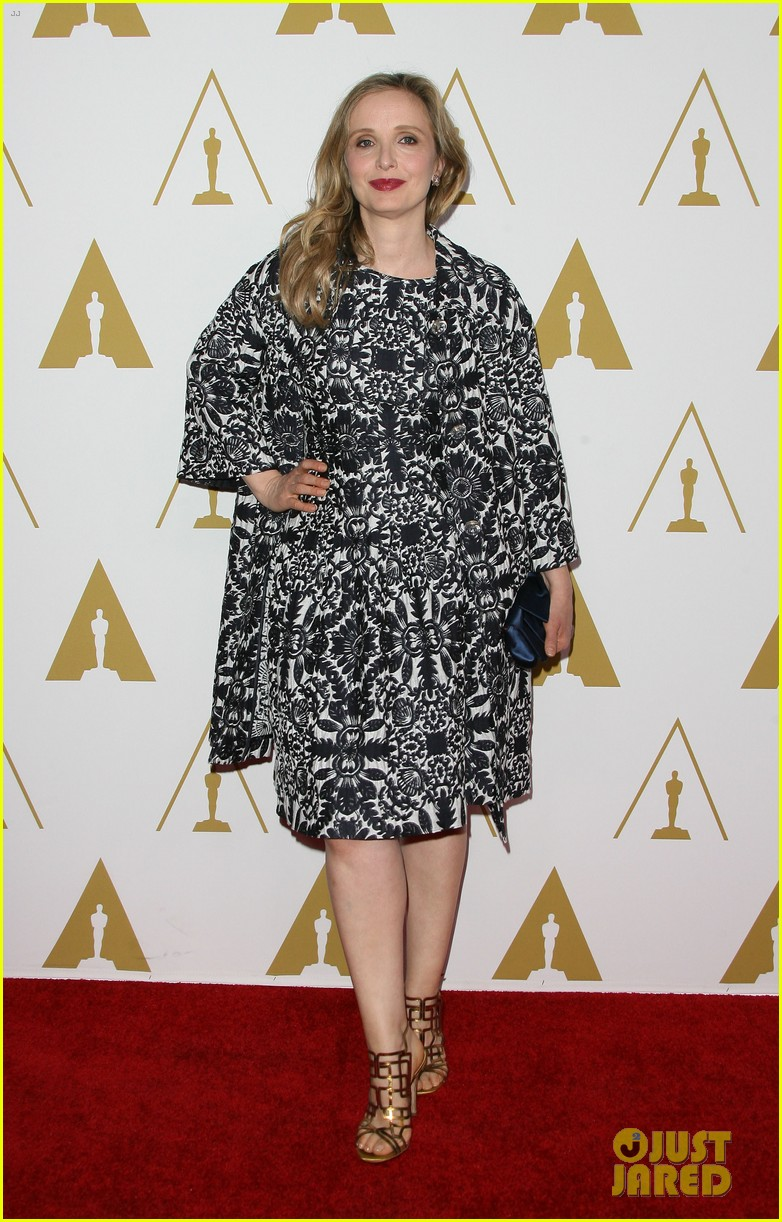 ethan hawke julie delpy oscars nominees luncheon 2014 01