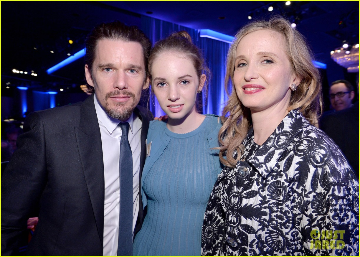 ethan hawke julie delpy oscars nominees luncheon 2014 04