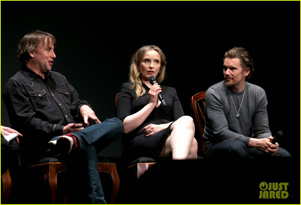 ethan hawke julie delpy oscars nominees luncheon 2014 063050853