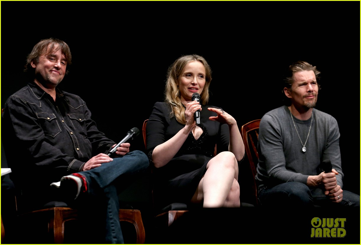 ethan hawke julie delpy oscars nominees luncheon 2014 07