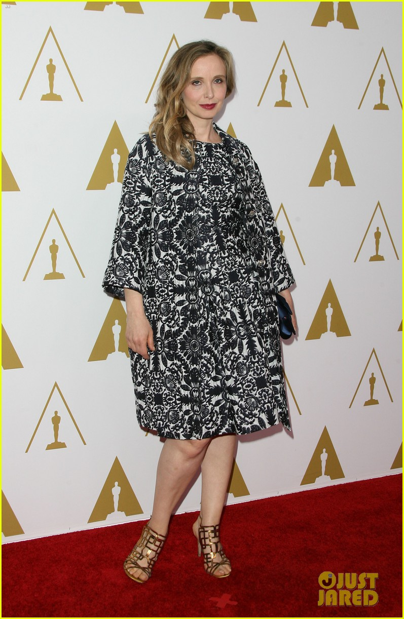 ethan hawke julie delpy oscars nominees luncheon 2014 13