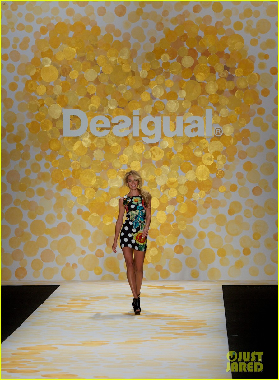 erin heatherton candice swanepoel walk the runway at desigual show 103048816