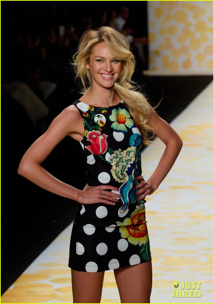 erin heatherton candice swanepoel walk the runway at desigual show 113048817