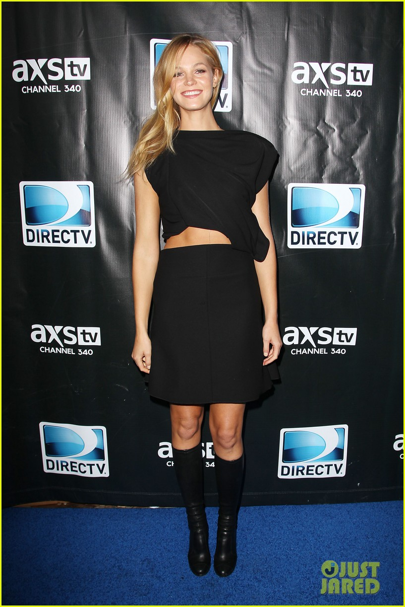erin heatherton ireland baldwin directv super saturday night 013046220