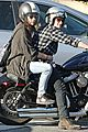 josh hutcherson goes for a motorcycle ride with a gal pal 05