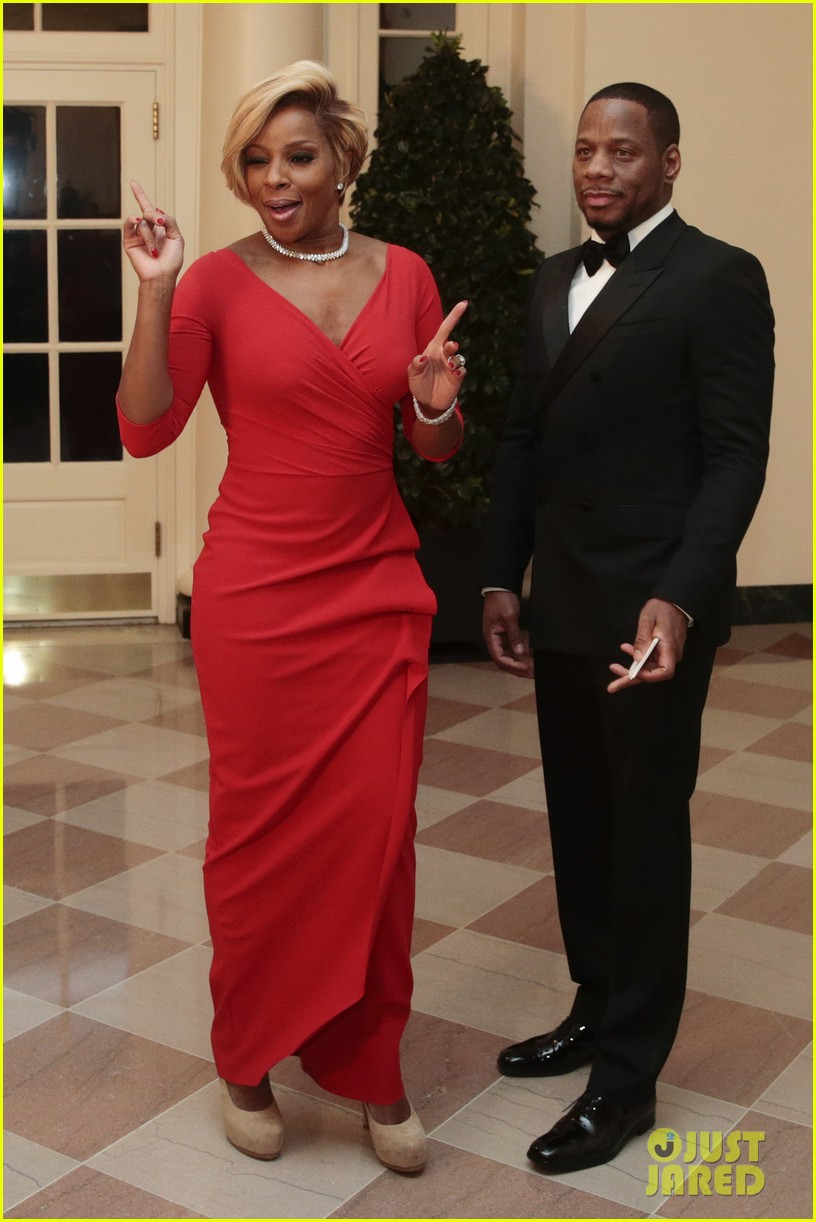 veeps julia louis dreyfus meets the real vp at state dinner 03