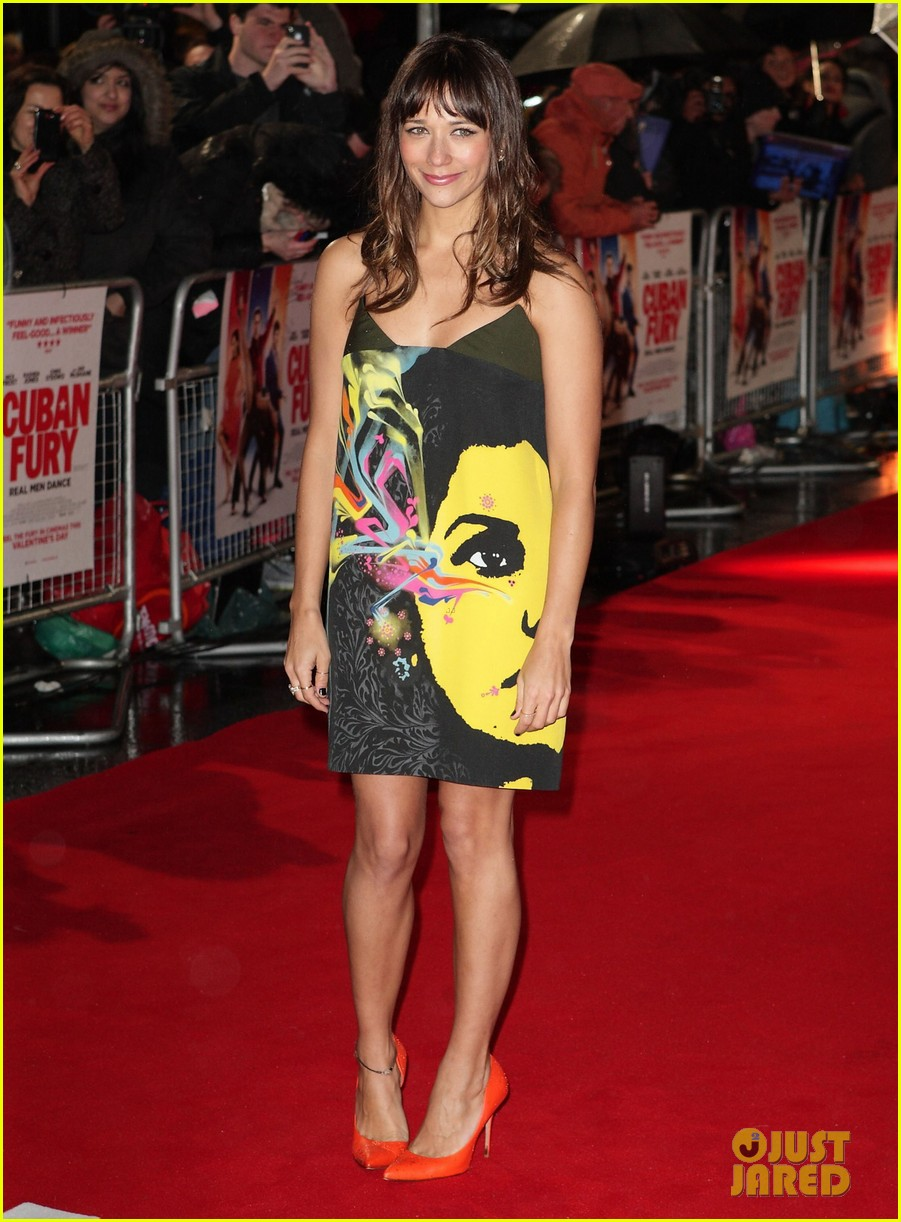rashida jones lake bell cuban fury london premiere 03
