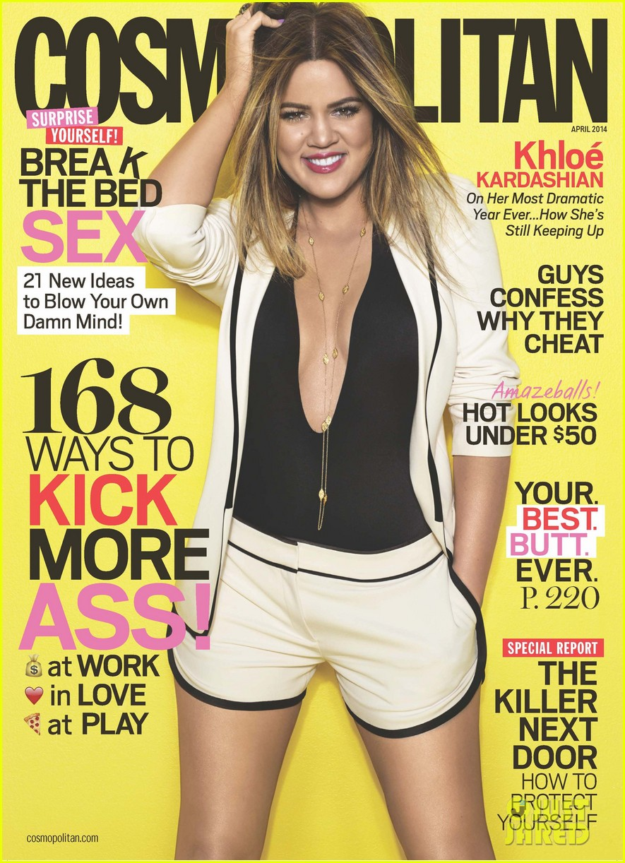 khloe kardashian covers cosmopolitan april 2014 01