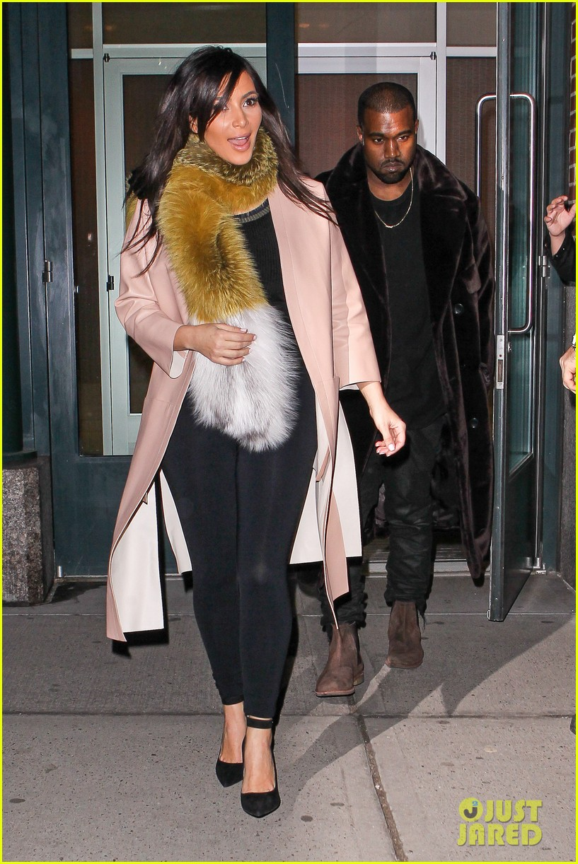 kim kardashian kanye west step out before new kuwtk episode 053059310