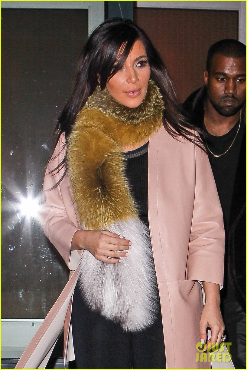 kim kardashian kanye west step out before new kuwtk episode 08