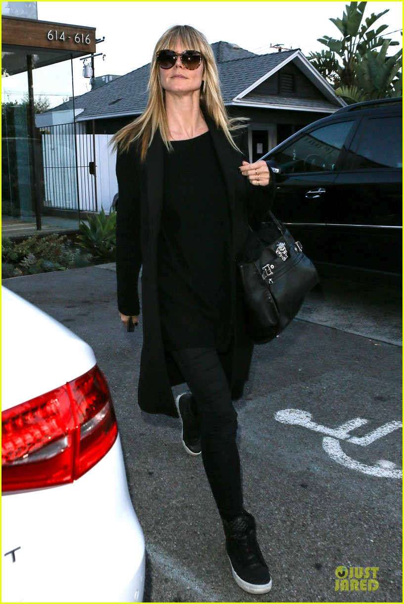 heidi klum soccer mom at leni johan saturday game 153049867
