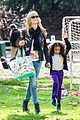 heidi klum soccer mom at leni johan saturday game 16