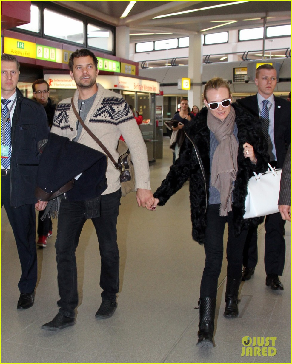 diane kruger joshua jackson share a smile while leaving berlin 073051374