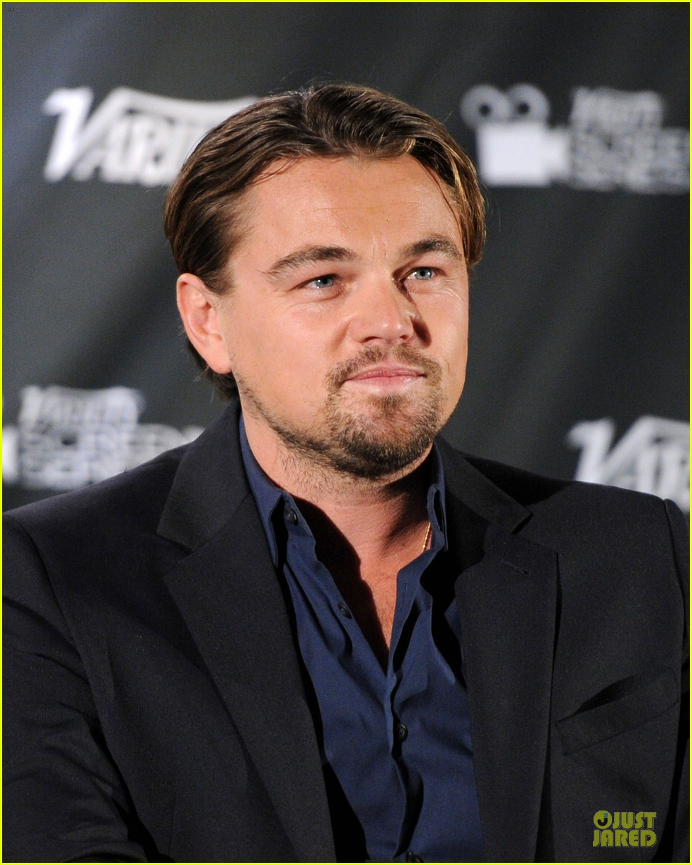 leonardo dicaprio promotes wolf of wall street at variety screening 023047715