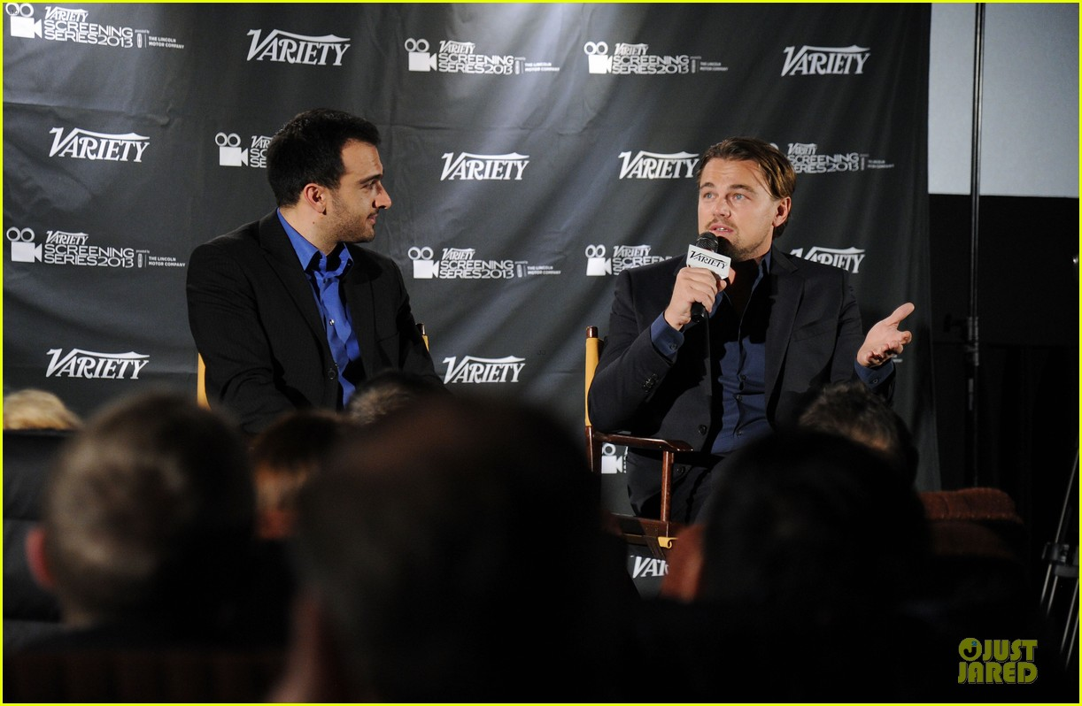leonardo dicaprio promotes wolf of wall street at variety screening 03