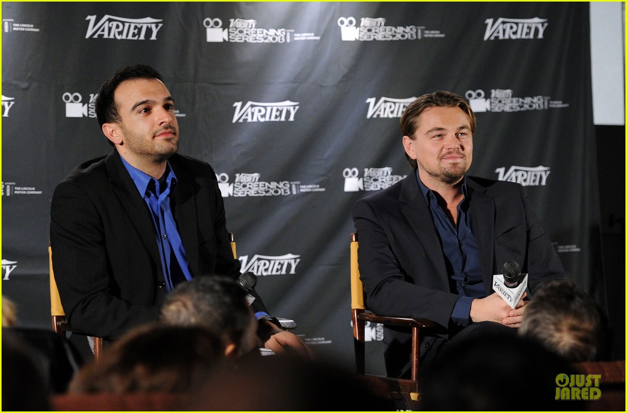 leonardo dicaprio promotes wolf of wall street at variety screening 05