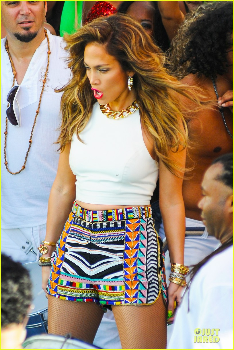 jennifer lopez shoots vibrant world cup music video 14