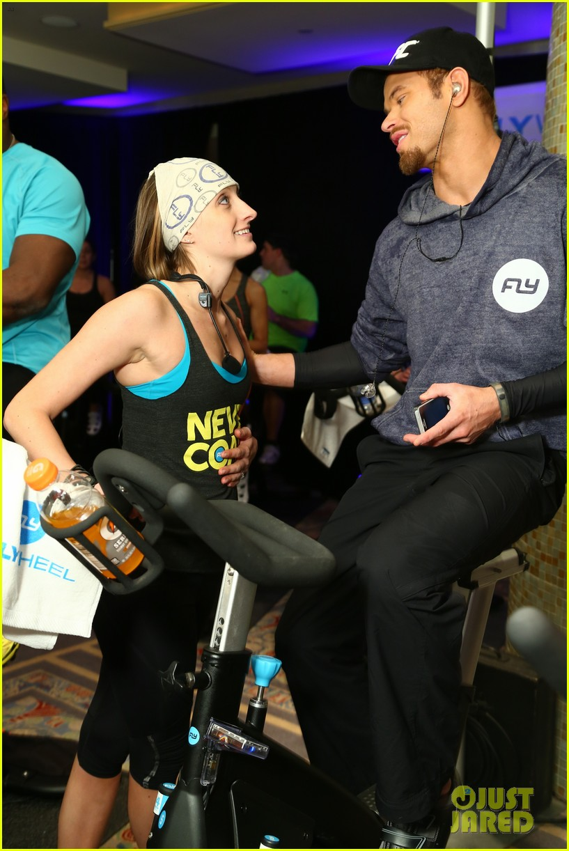kellan lutz bryan greenberg work up a sweat at nfl house 373046826