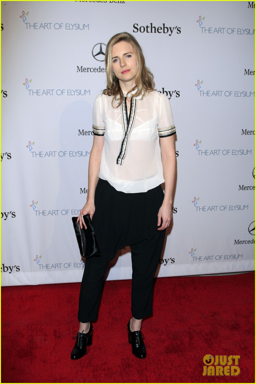 brit marling pieces of heaven charity art auction 2014 093061545