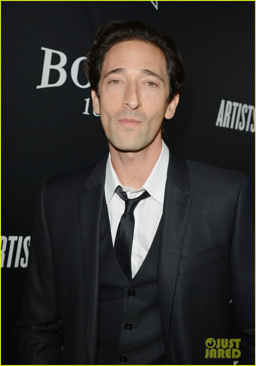 annalynne mccord adrien brody hollywood domino gala 2014 133062199