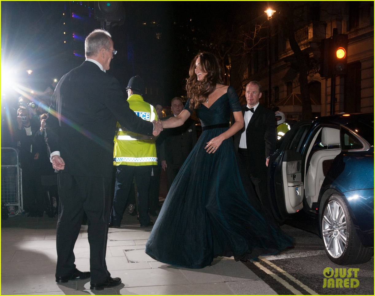 kate middleton makes first official appearance in 2014 at national portrait gala 033051433