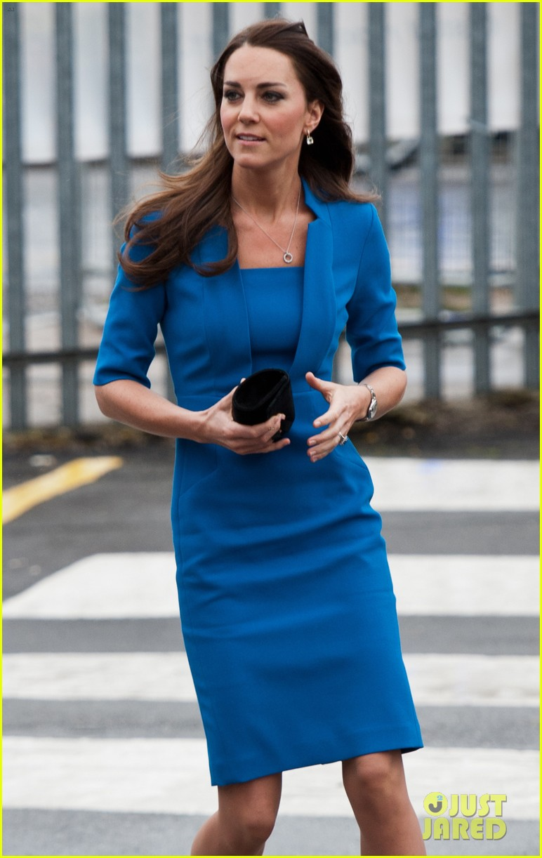 kate middleton opens the icap art room on valentines day 053053291