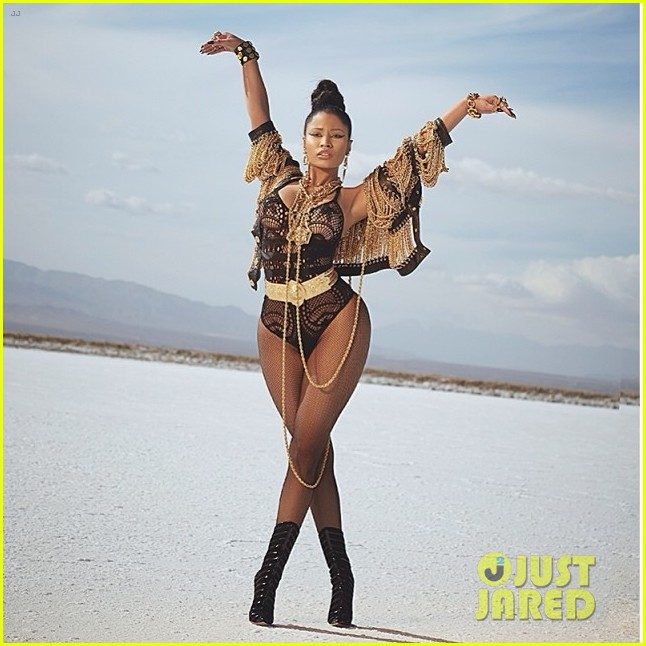 nicki minaj looking ass ngga video premiere 053052217