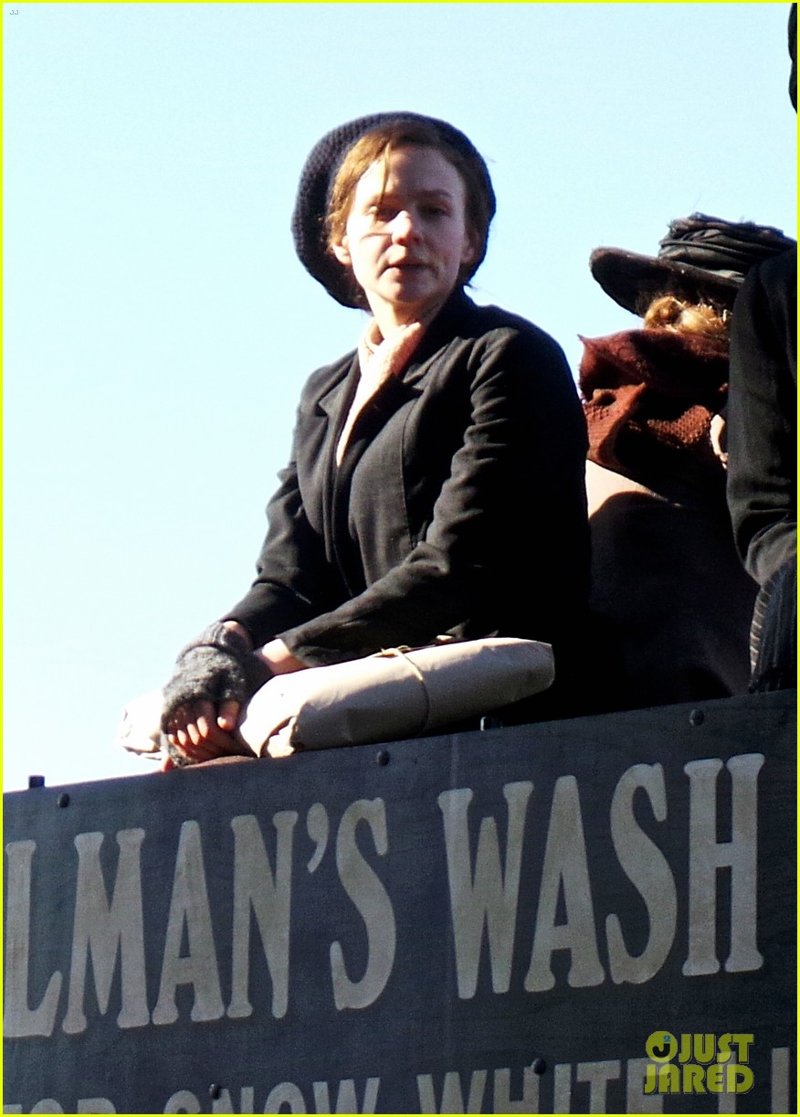 carey mulligan begins filming suffragette in london 03