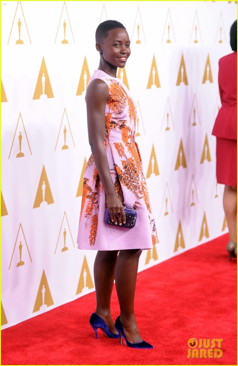 lupita nyongo barkhad abdi oscars nominees luncheon 2014 04