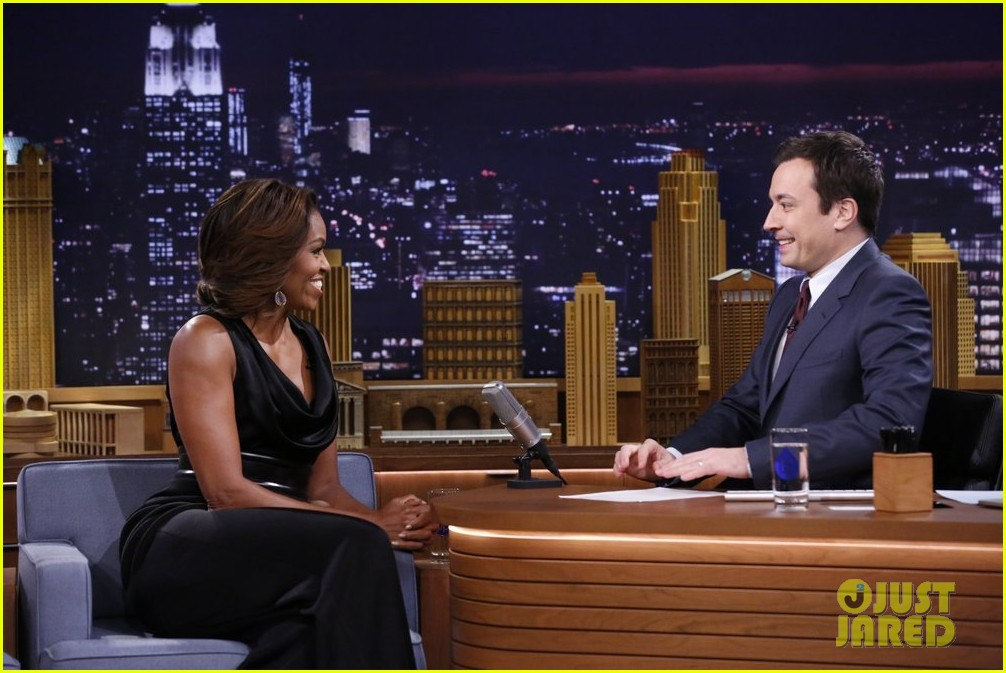 michelle obama ew sketch with jimmy fallon will ferrell 04
