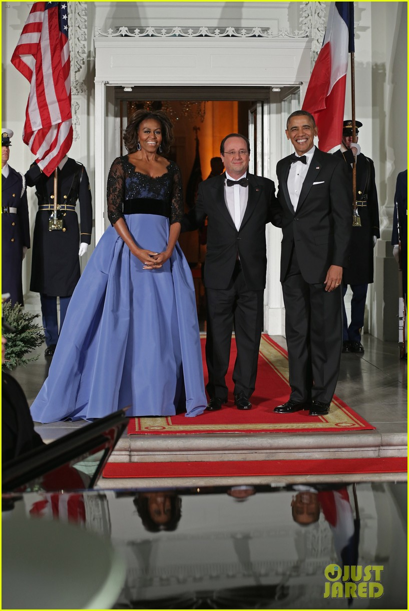 barack michelle obama white house state dinner 093051808